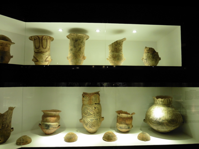 Musée Pia Pablo Diaz - Poteries décorées