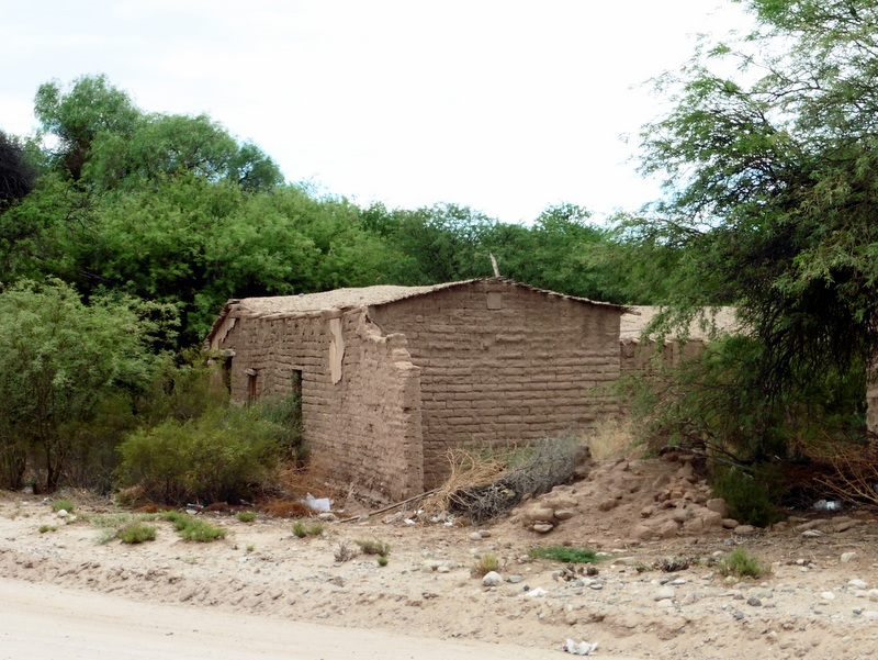 Maison en adobe