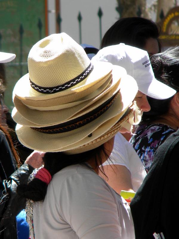La vendeuse de chapeaux