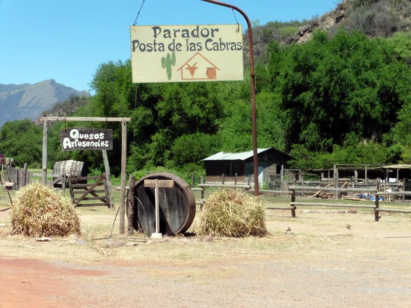 Le restaurant Parador de las Cabras
