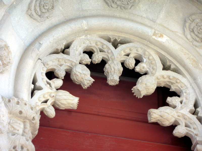 Détail décoratif (artichaut)