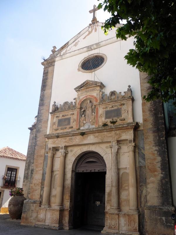 Façade de l'église Sainte Marie
