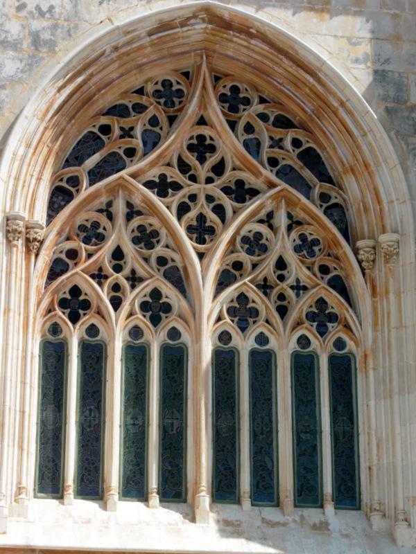 Fenêtre en gothique flamboyant