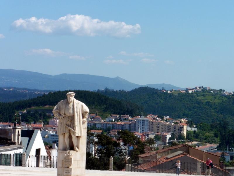 Panorama sur la ville et le Mondego