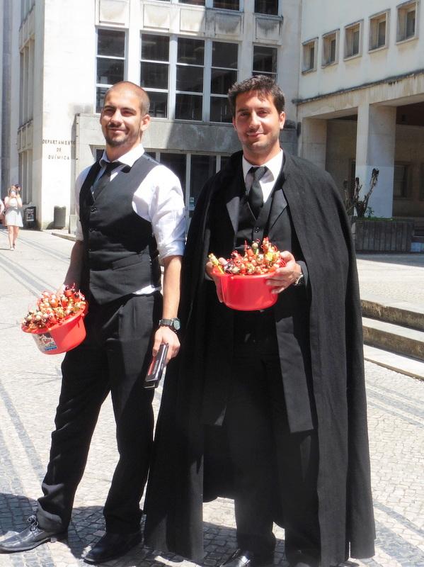 Deux étudiants de l'Université