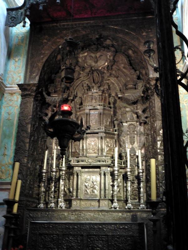 La Sé : chapelle du Saint-Sacrement