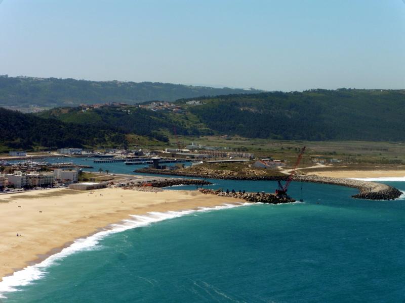 Le port vu du Sitio
