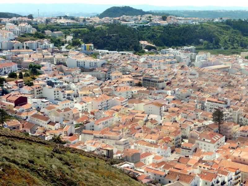 La ville basse vue du Sitio
