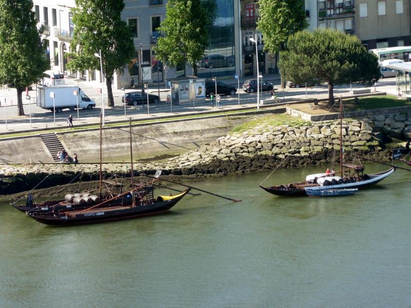 Barques sur le Douro
