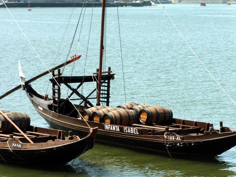 Barcos Rabelos sur le Douro