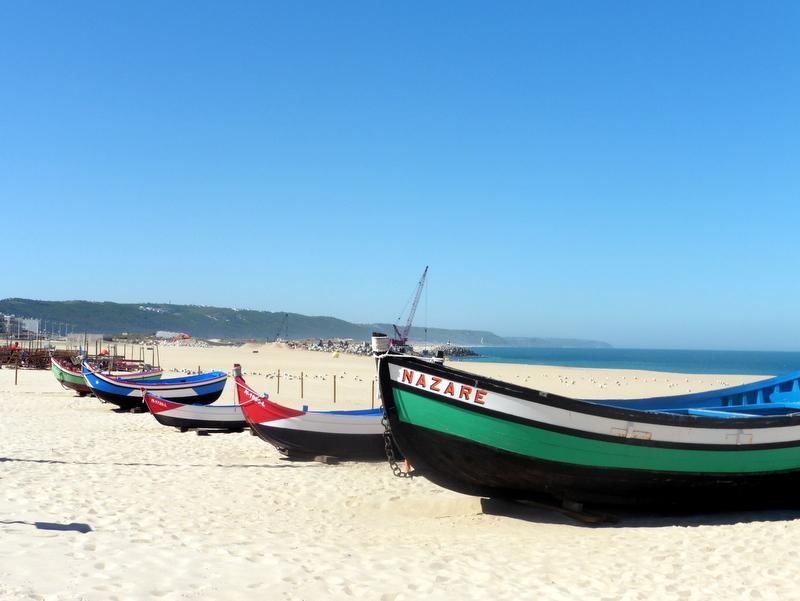 Barques sur la plage