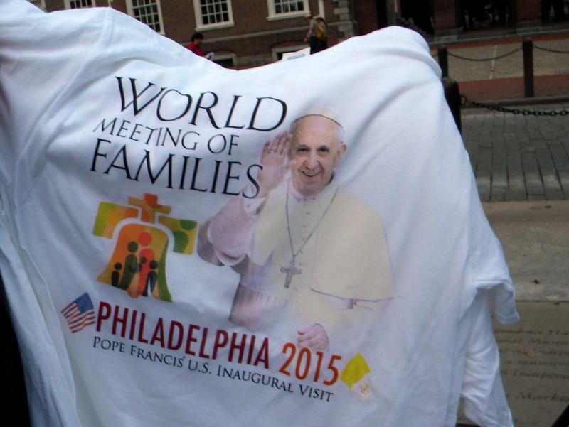 Bienvenue au Pape François