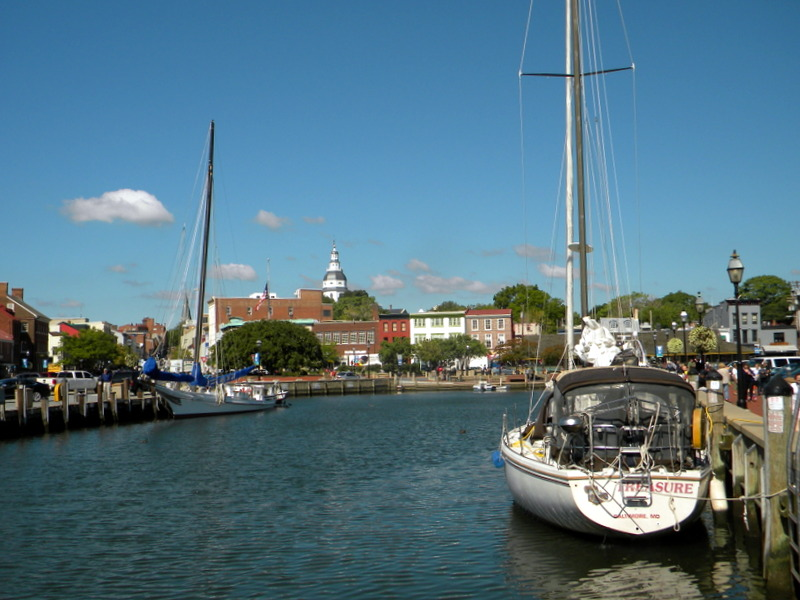 Le port d'Annapolis