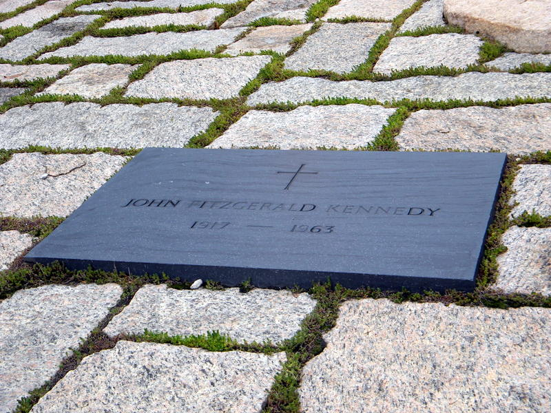 La tombe de J.F. Kennedy