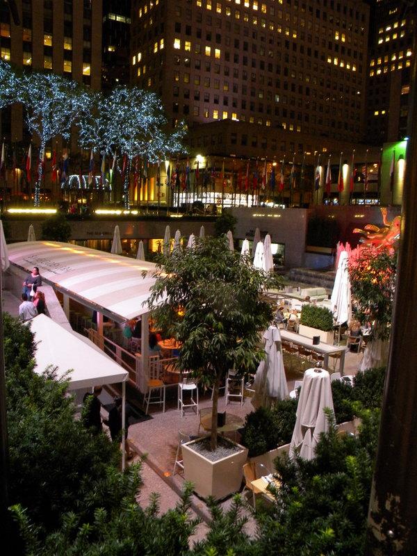 Cafés du Rockefeller Center