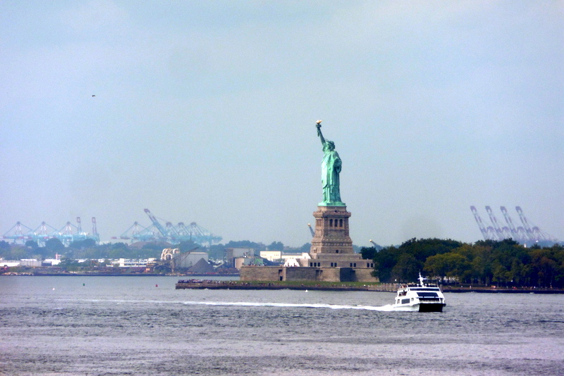 Dans le port de New York