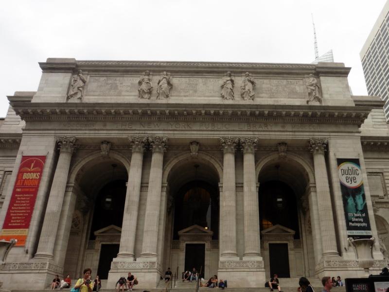 La bibliothèque publique de New York