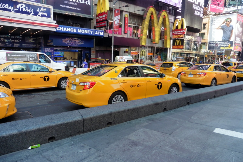 Les taxis jaunes