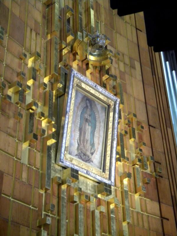 La Vierge de la Guadalupe