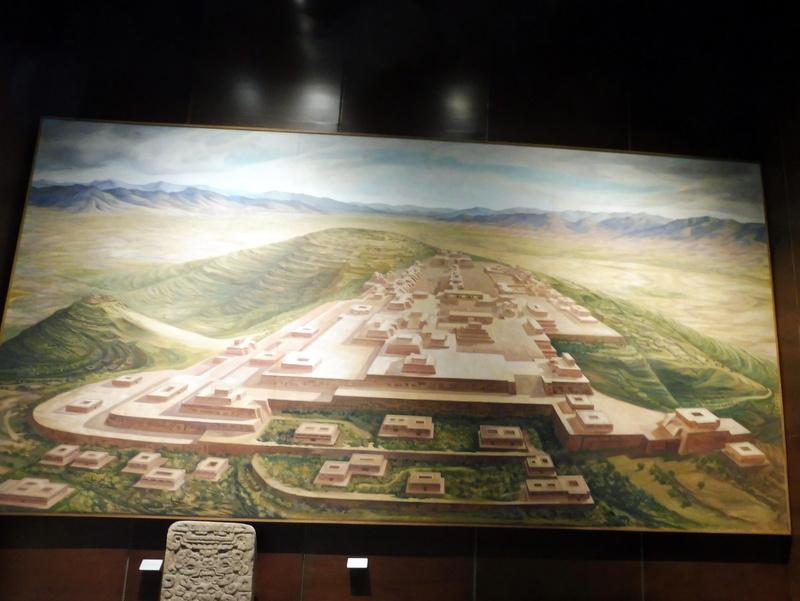 Le site de Monte Alban dans son milieu naturel