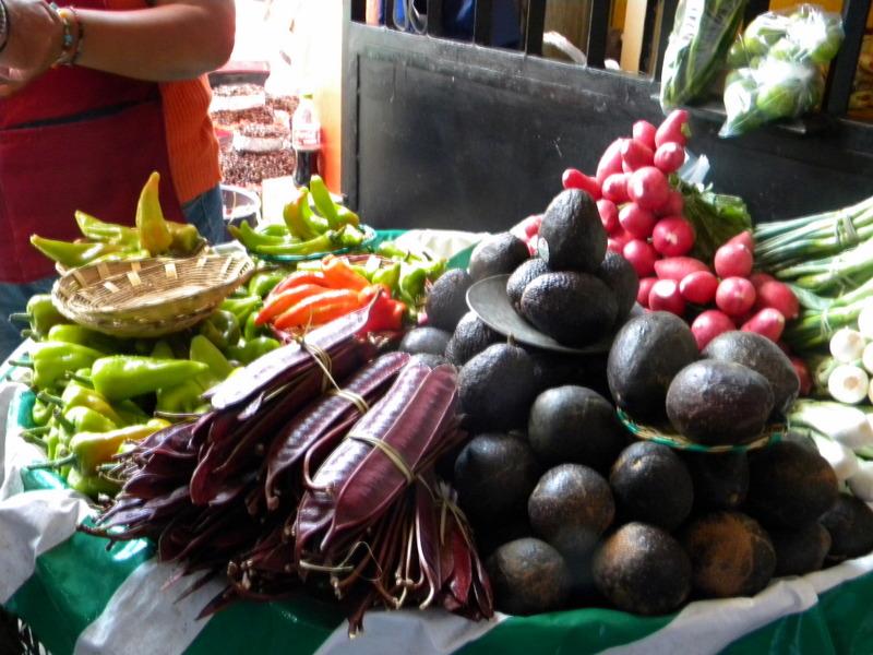 Des légumes appétissants