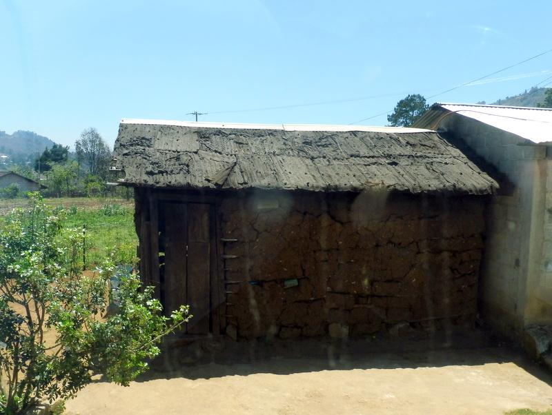 Maison traditionnelle maya