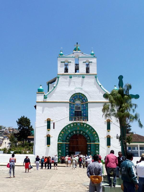 L'église de San Juan Chamula