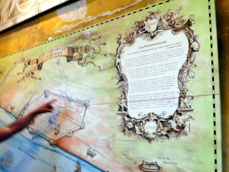 Le plan des fortifications