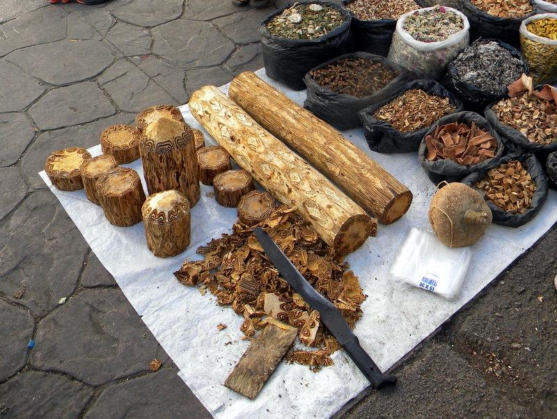 Objets en bois