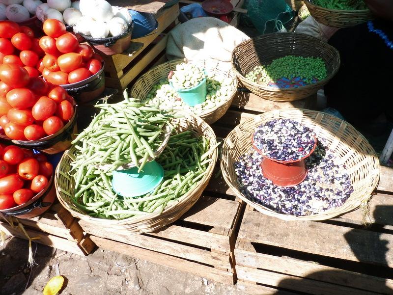 Au marché-Légumes