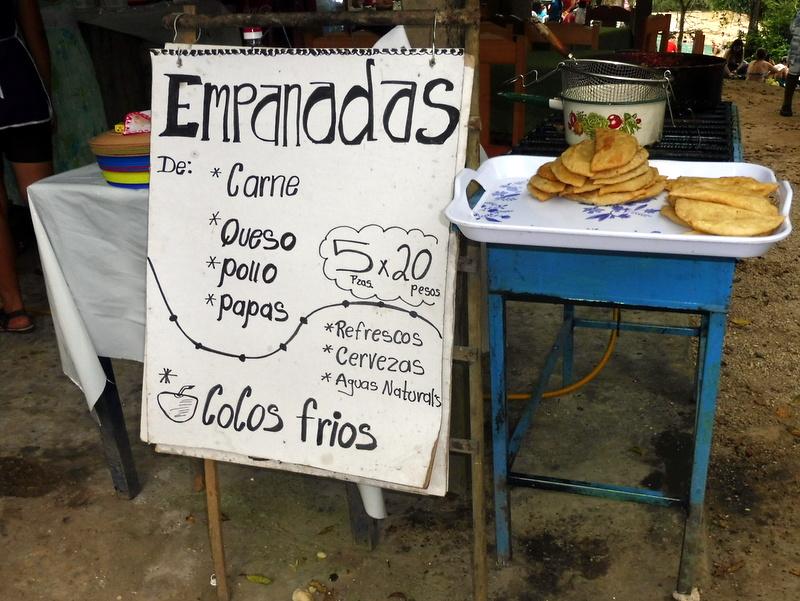 Empanadas à vendre
