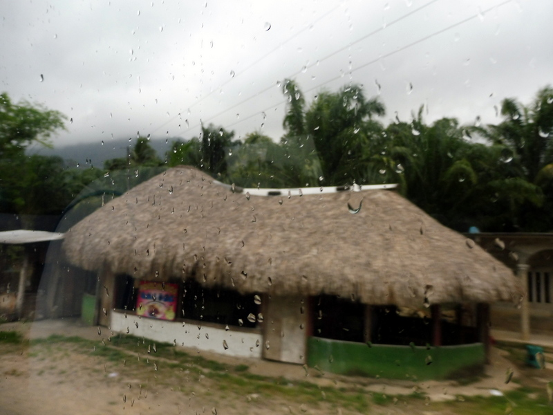 Premières gouttes de pluie