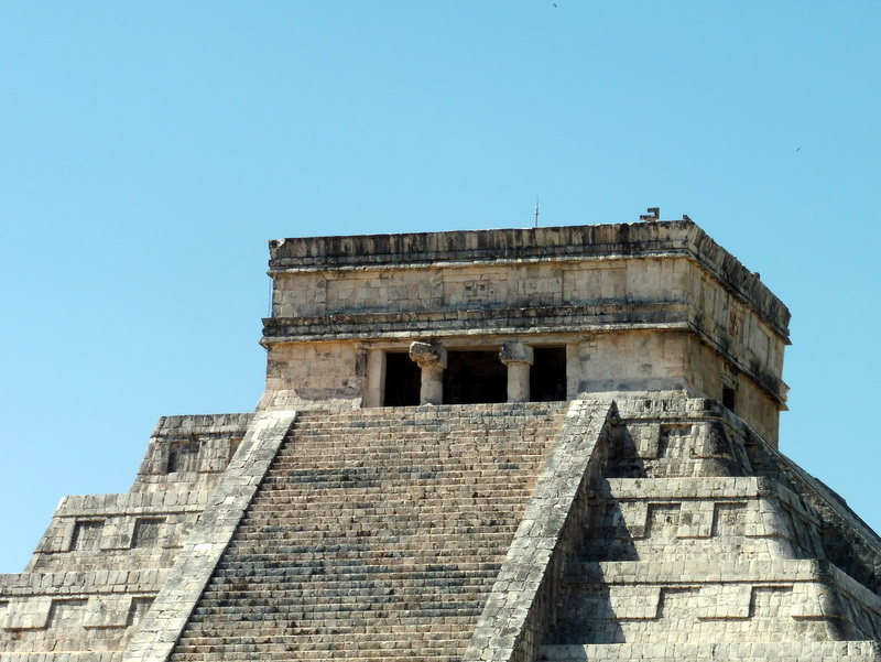La pyramide de Kukulcan-Le temple