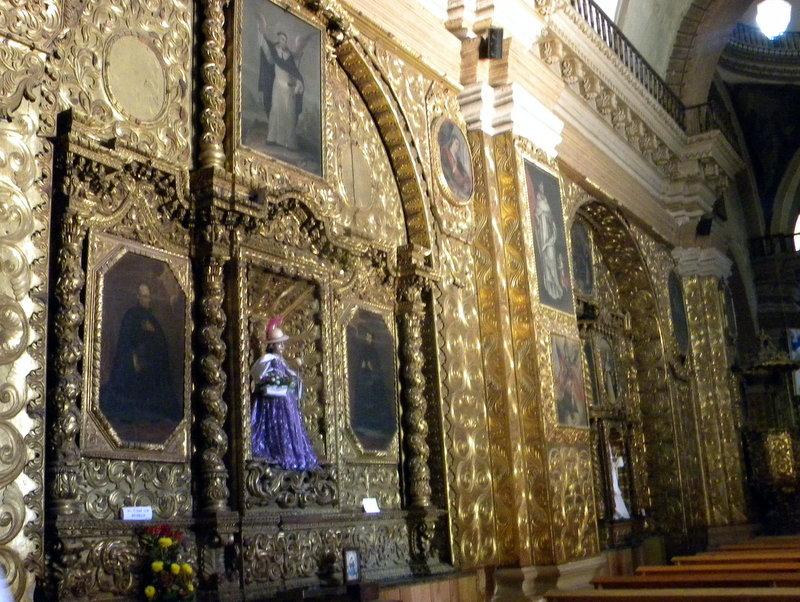 San Domingo-Le retable