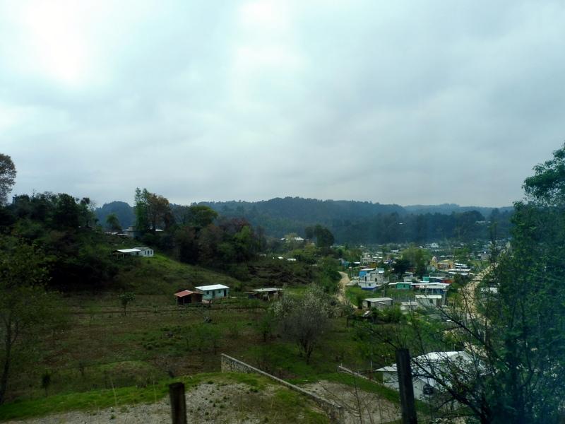 Village sur la route de Palenque