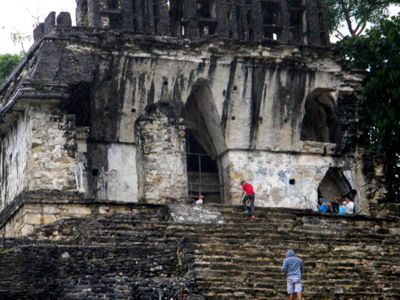 Bel exemple de voûte maya