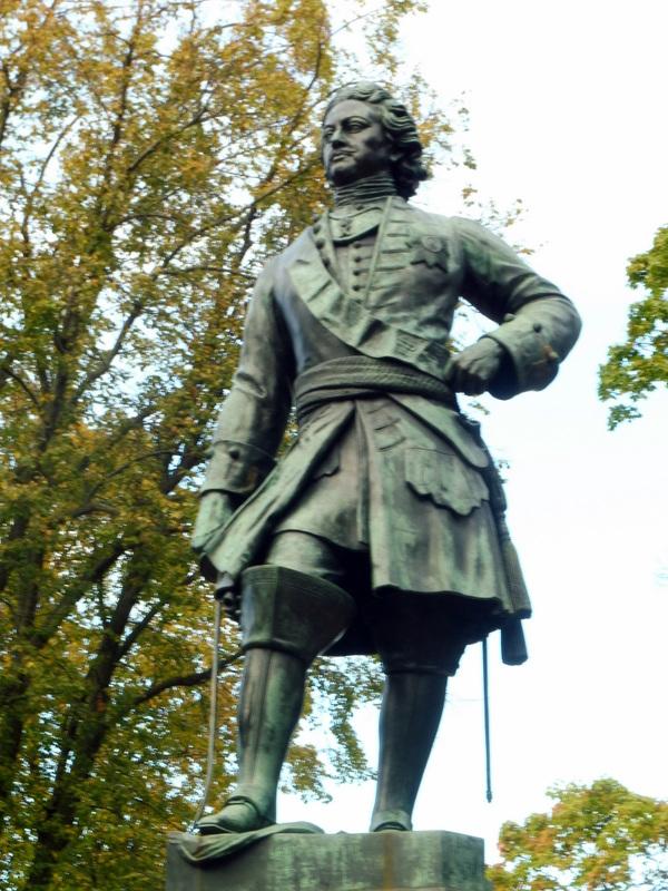 Pierre-le-Grand, fondateur de Kronstadt