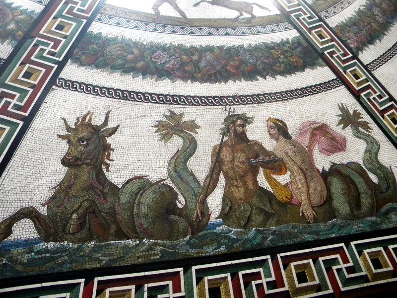 Copie de mosaïque romaine