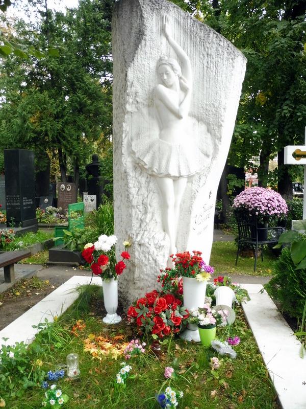 Tombeau d'Anna Pavlova