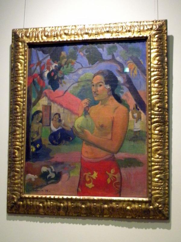 Femme au fruit - Gauguin
