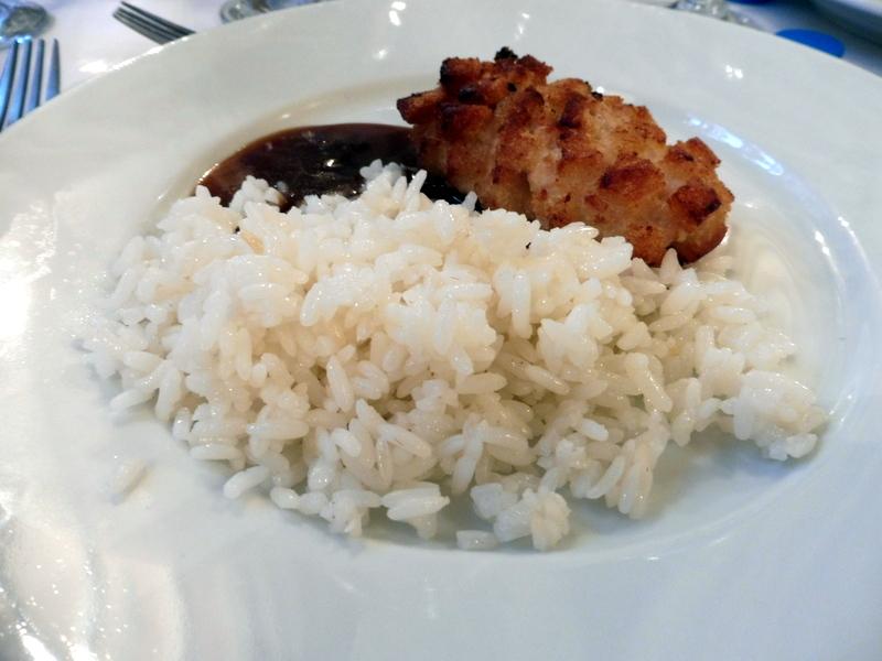 Boulettes de viande et riz