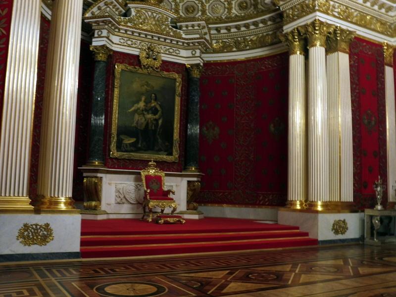 Le trône de Paul 1°