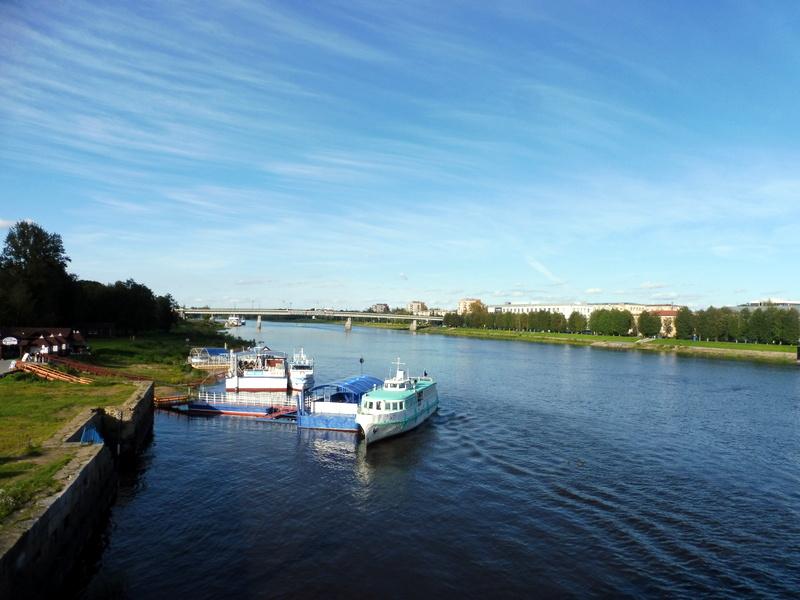 Le fleuve Volkhov