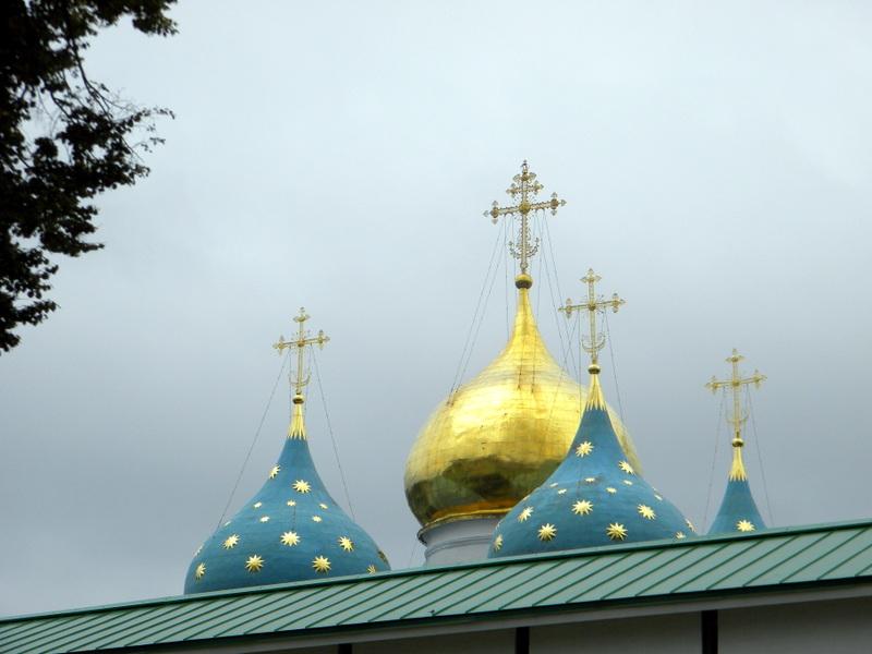 La cathédrale de la Dormition-Les coupoles