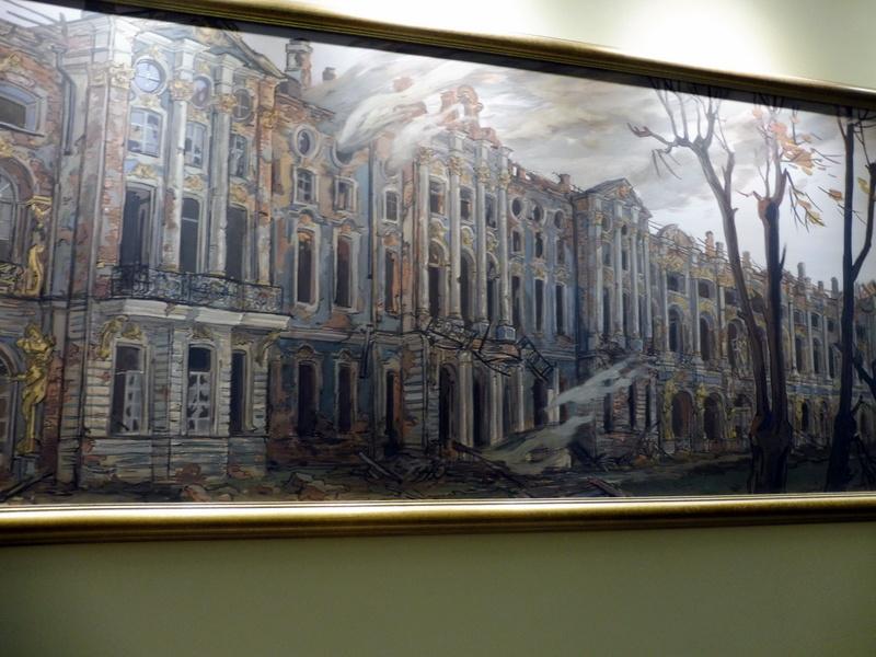 L'incendie du palais Catherine