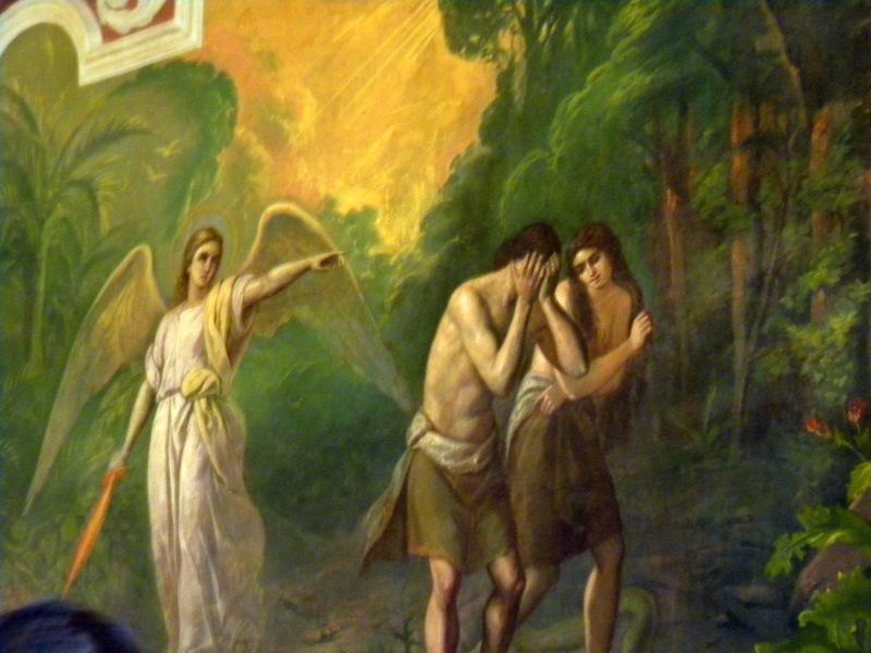 Fresques d'Adam et Ève