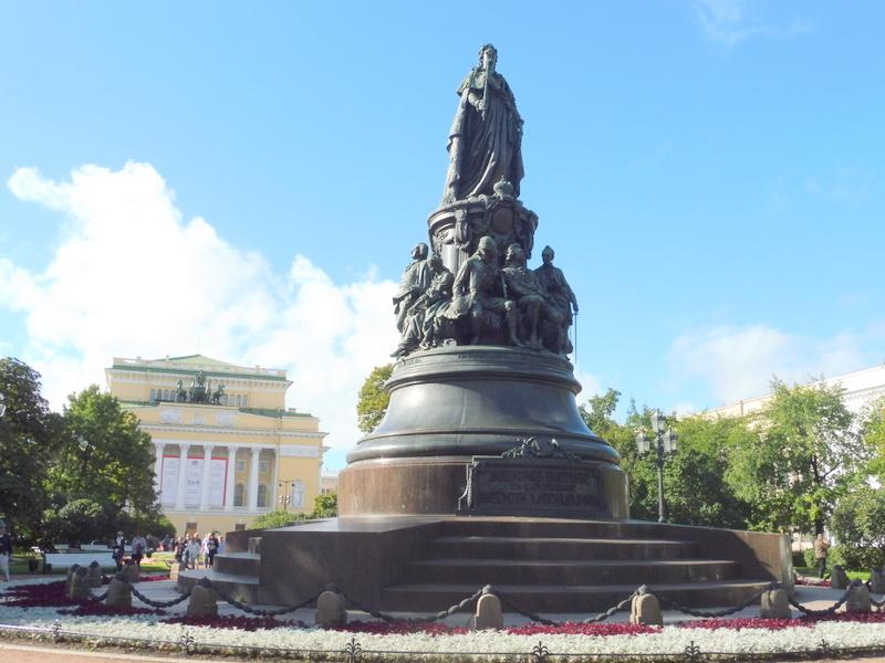 Statue de Catherine II la Grande
