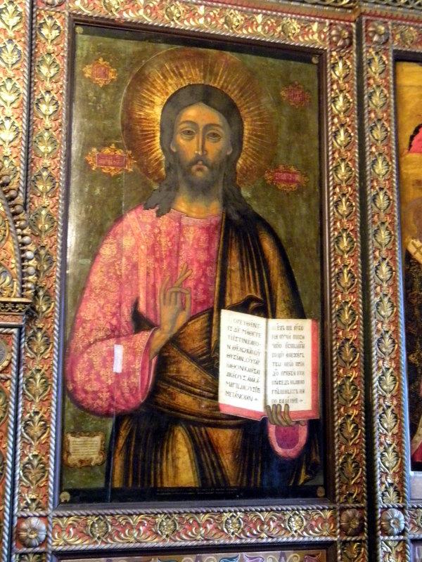 Icône de l'église du Prophète Élie