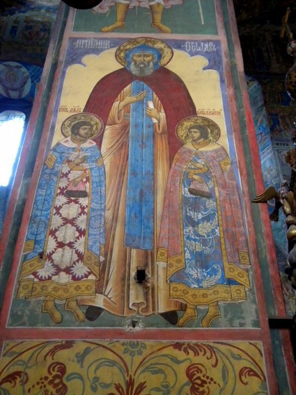 Église du Prophète Élie, les fresques (1)