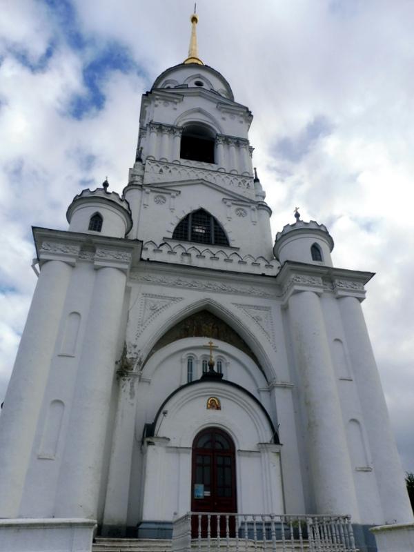Le clocher, vu de près
